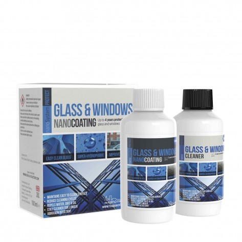 PROTECT Glass & Windows Kit (Coating + Cleaner)