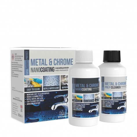 PROTECT Metal, Chrome & Stainless Steel  Kit (Coating + Cleaner)