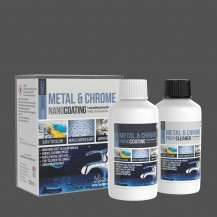 PROTECT Metal, Chrome & Stainless Steel Kit (Coating + Cleaner) 15ml